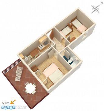 Apartment A-241-b - Apartments Zubovići (Pag) - 241