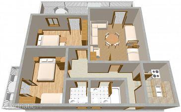 Apartment A-2415-a - Apartments and Rooms Klenovica (Novi Vinodolski) - 2415