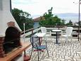 Shared terrace - Studio flat AS-2419-b - Apartments Novi Vinodolski (Novi Vinodolski) - 2419