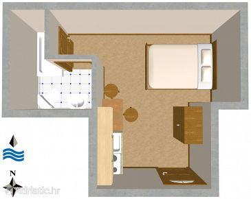 Studio flat AS-2431-b - Apartments and Rooms Komiža (Vis) - 2431