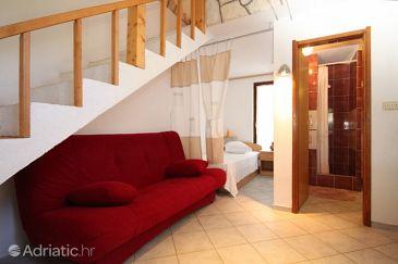 Rukavac, Living room u smještaju tipa studio-apartment, dopusteni kucni ljubimci.