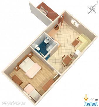 Apartment A-2446-a - Apartments Mali Lošinj (Lošinj) - 2446