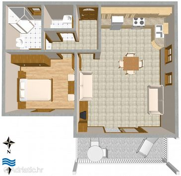 Apartment A-2456-a - Apartments Komiža (Vis) - 2456