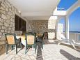 Terrace - Apartment A-2461-a - Apartments Milna (Vis) - 2461