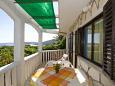 Terrace 1 - Apartment A-2461-b - Apartments Milna (Vis) - 2461