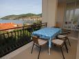 Vis, Terrace u smještaju tipa apartment, s pogledom na more i dopusteni kucni ljubimci.