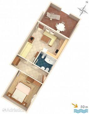 Apartment A-2485-b - Apartments Mali Lošinj (Lošinj) - 2485