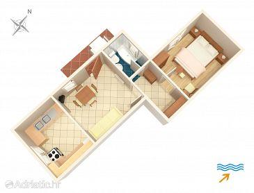 Apartment A-2492-a - Apartments Mali Lošinj (Lošinj) - 2492