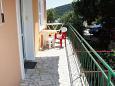 Terrace - Apartment A-2500-b - Apartments Mali Lošinj (Lošinj) - 2500