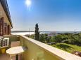 Nerezine, Balcony - view u smještaju tipa apartment, dopusteni kucni ljubimci i WIFI.