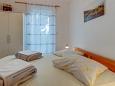 Nerezine, Bedroom 2 u smještaju tipa apartment, dopusteni kucni ljubimci i WIFI.
