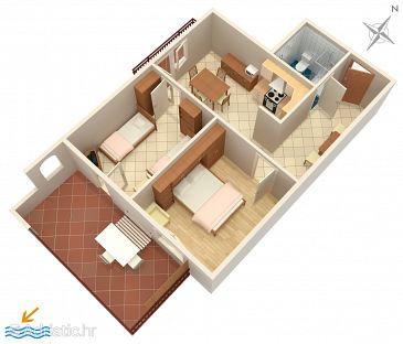 Apartment A-2528-c - Apartments Umag (Umag) - 2528