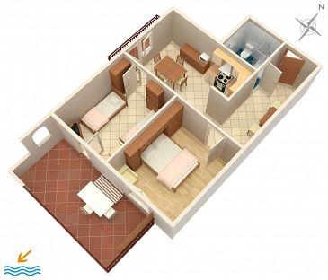Apartament A-2528-c - Apartamenty Umag (Umag) - 2528
