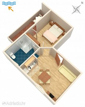 Apartment A-2548-b - Apartments Umag (Umag) - 2548