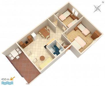 Apartment A-2551-a - Apartments Novigrad (Novigrad) - 2551