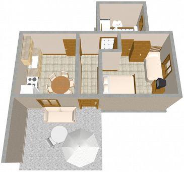 Apartament A-2570-b - Apartamenty Slatine (Čiovo) - 2570