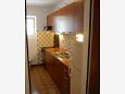 Seget Vranjica, Kitchen u smještaju tipa apartment, dopusteni kucni ljubimci i WIFI.