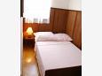 Seget Vranjica, Bedroom 3 u smještaju tipa apartment, dopusteni kucni ljubimci i WIFI.