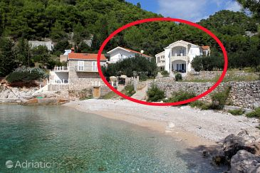 Property Uvala Jedra (Hvar) - Accommodation 2583 - Apartments near sea with pebble beach.