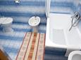 Bathroom - Apartment A-2588-c - Apartments Promajna (Makarska) - 2588