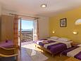 Bedroom 2 - Apartment A-2596-a - Apartments Podgora (Makarska) - 2596