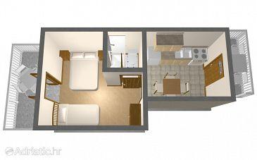 Apartment A-260-b - Apartments Viganj (Pelješac) - 260