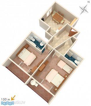 Apartment A-2604-a - Apartments Podgora (Makarska) - 2604