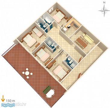 Apartment A-2604-b - Apartments Podgora (Makarska) - 2604