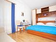 Bedroom - Studio flat AS-2605-a - Apartments Promajna (Makarska) - 2605