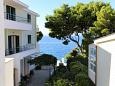 Balcony - view - Studio flat AS-2605-b - Apartments Promajna (Makarska) - 2605