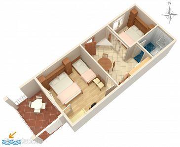 Apartment A-2615-e - Apartments Podgora (Makarska) - 2615