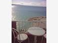Balcony - Studio flat AS-2616-d - Apartments and Rooms Podgora (Makarska) - 2616