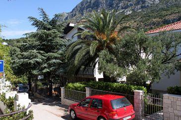 Obiekt Podaca (Makarska) - Zakwaterowanie 2617 - Apartamenty blisko morza ze żwirową plażą.