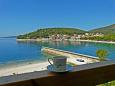 Balcony - view - Apartment A-2619-a - Apartments Drvenik Donja vala (Makarska) - 2619