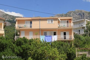 Property Podgora (Makarska) - Accommodation 2624 - Apartments near sea with pebble beach.