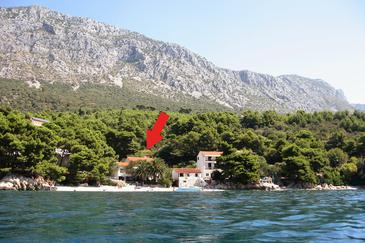 Property Zaostrog (Makarska) - Accommodation 2625 - Apartments near sea with pebble beach.