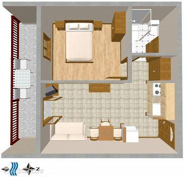 Apartment A-2627-b - Apartments Bratuš (Makarska) - 2627