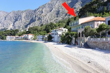 Property Drašnice (Makarska) - Accommodation 2644 - Apartments near sea with pebble beach.