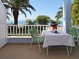Terrace - Room S-2646-a - Apartments and Rooms Zaostrog (Makarska) - 2646