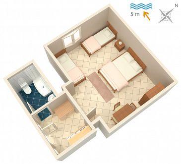 Studio AS-2647-a - Apartamenty Podaca (Makarska) - 2647