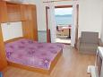 Bedroom - Studio flat AS-2653-a - Apartments Brela (Makarska) - 2653