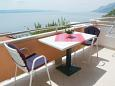 Terrace - Studio flat AS-2653-a - Apartments Brela (Makarska) - 2653