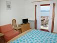 Bedroom - Studio flat AS-2653-b - Apartments Brela (Makarska) - 2653