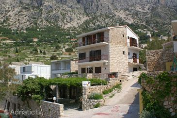 Property Drašnice (Makarska) - Accommodation 2659 - Apartments near sea with pebble beach.