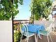 Balcony - Studio flat AS-266-c - Apartments Orebić (Pelješac) - 266