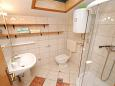 Bathroom - Studio flat AS-2663-a - Apartments Zaostrog (Makarska) - 2663