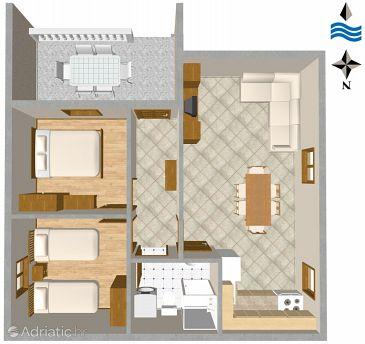 Apartment A-2669-a - Apartments Rogoznica (Rogoznica) - 2669
