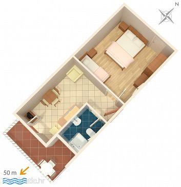 Apartment A-2671-b - Apartments Bratuš (Makarska) - 2671