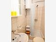 Bathroom - Studio flat AS-2671-b - Apartments Bratuš (Makarska) - 2671