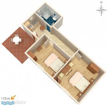 Apartment A-2672-c - Apartments Makarska (Makarska) - 2672